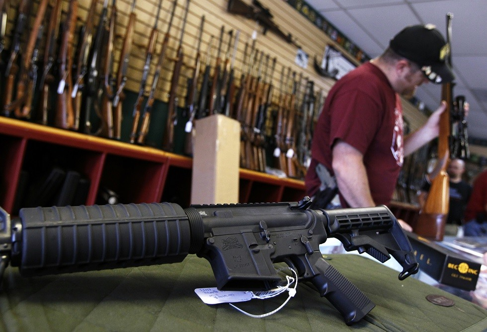 متجر لبيع الأسلحة في باركر، كولورادو، الولايات المتحدة