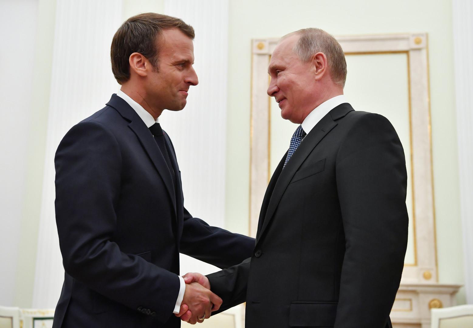 سوريا وأوكرانيا: ما الذي سيناقشه بوتين مع ماكرون في باريس