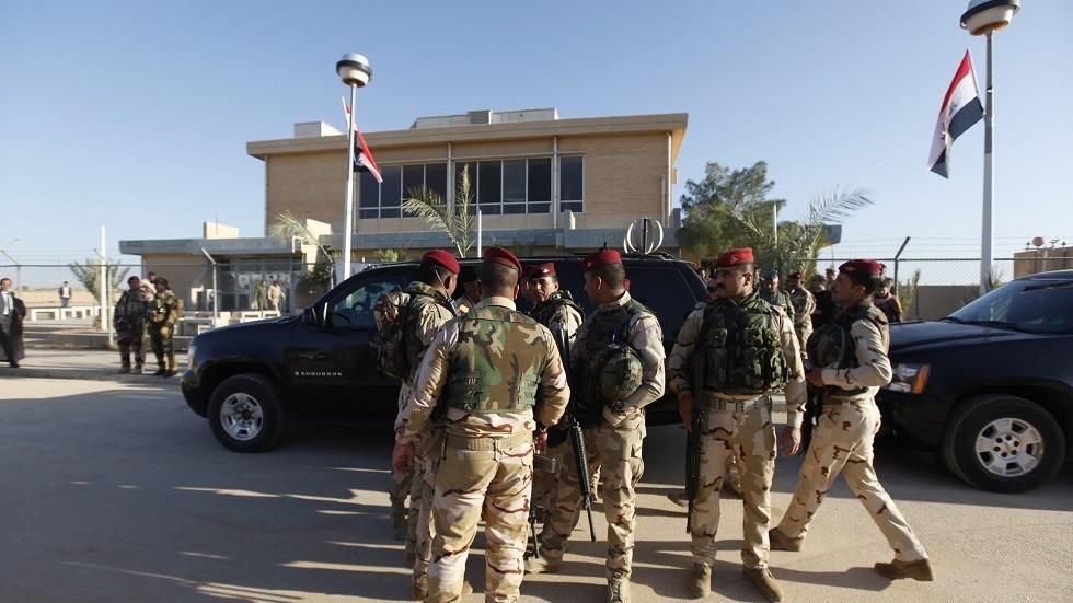 القوات الأمنية العراقية في محافظة الأنبار غربي البلاد