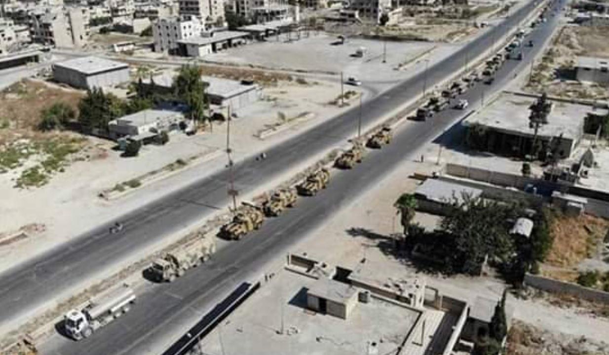 ما وجهة وهدف الرتل العسكري التركي في إدلب؟