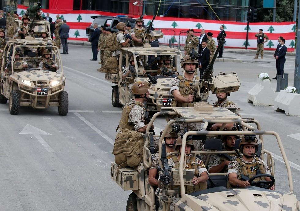 شاهد ترسانة الأسلحة التي سلمتها الولايات المتحدة إلى لبنان