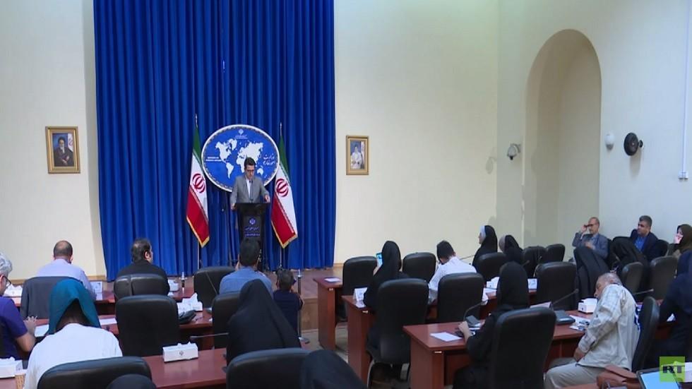 طهران تحذر واشنطن من مصادرة الناقلة