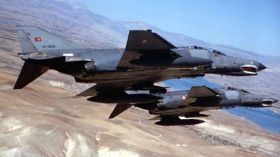 طائرات حربية تابعة لسلاح الجو التركي - أرشيف