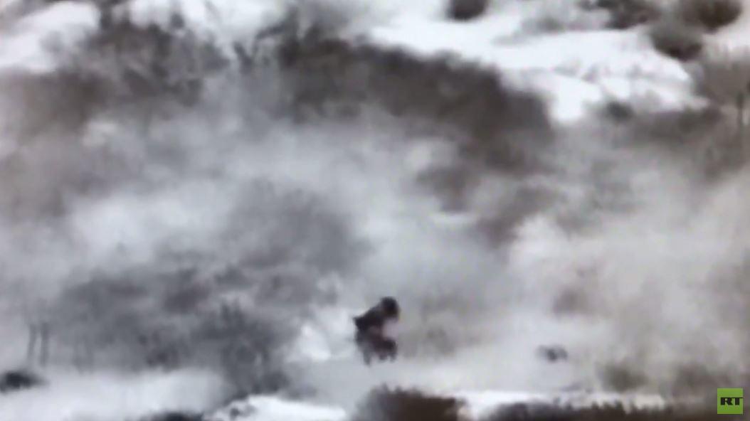 الجيش الإسرائيلي ينشر فيديو لتسلل مسلحين من شمال قطاع غزة