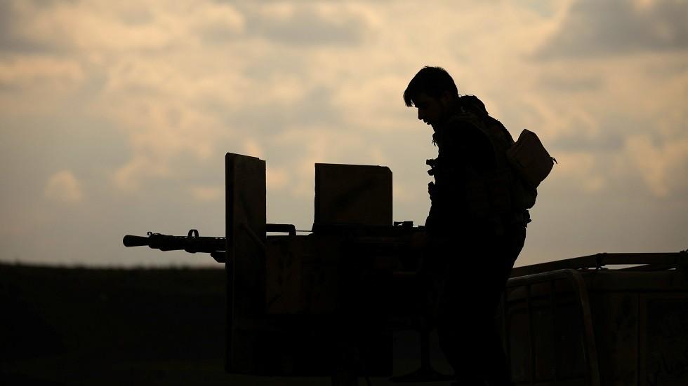 مقاتل من قوات سوريا الديمقراطية - أرشيف
