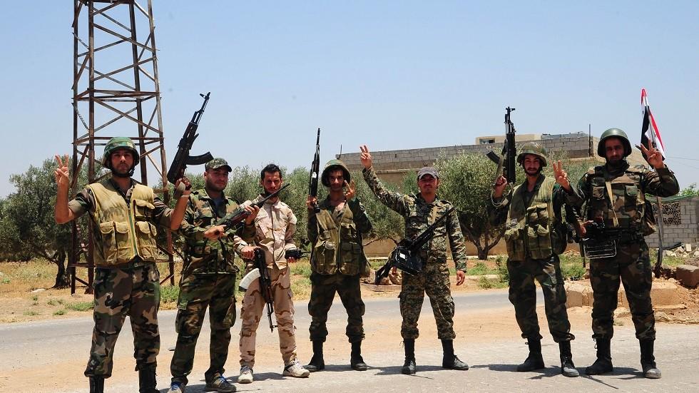 الجيش السوري يقطع طرق الإمداد عن