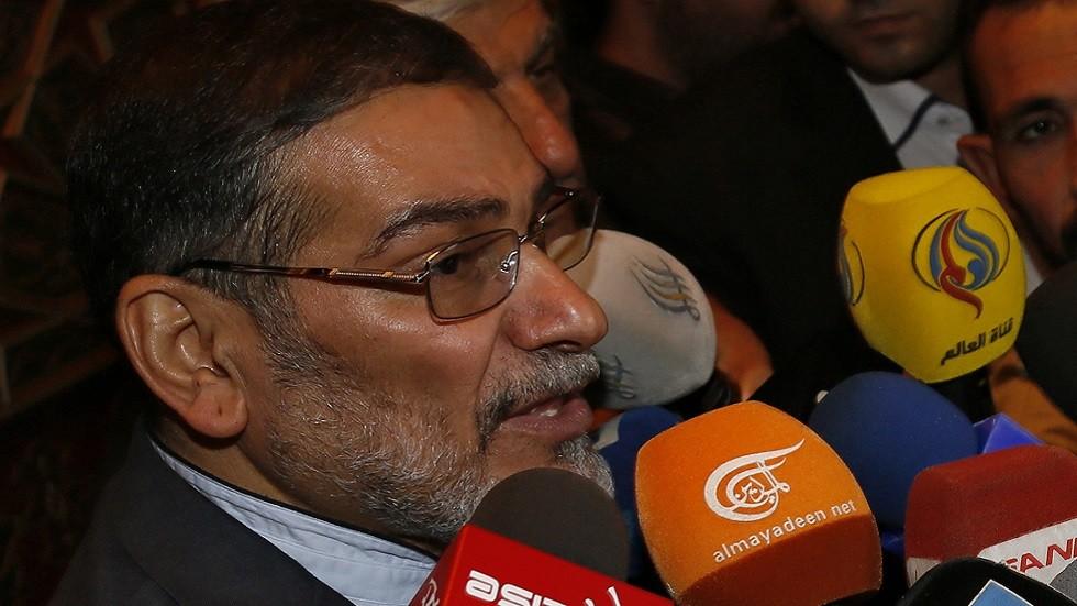 شمخاني: توقيع إيران على الاتفاق النووي كان