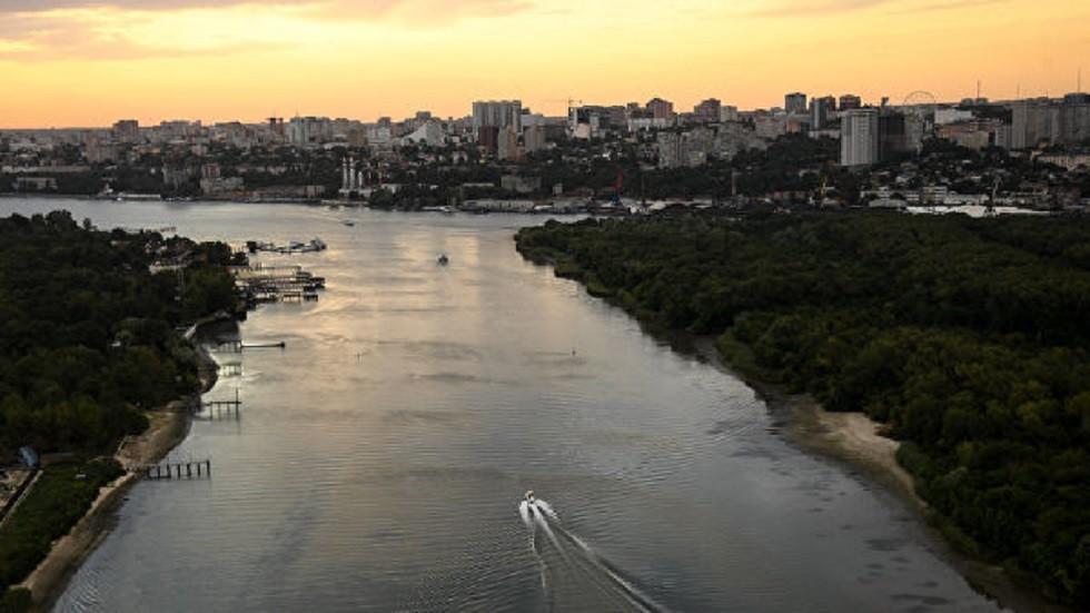 نهر الدون ومدينة روستوف