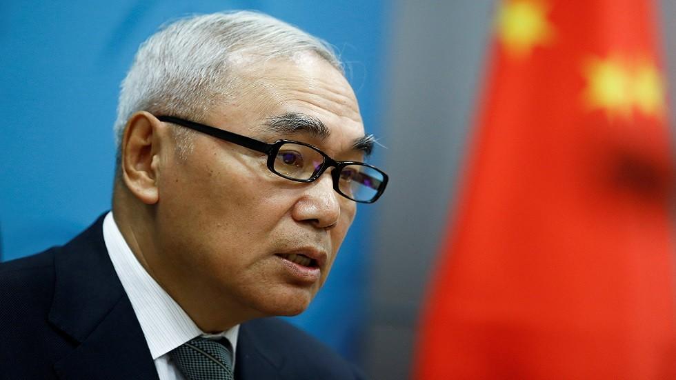 المبعوث الصيني الخاص إلى سوريا شيه شياو يان