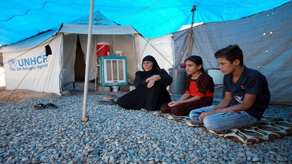 نازحون عراقيون - أرشيف