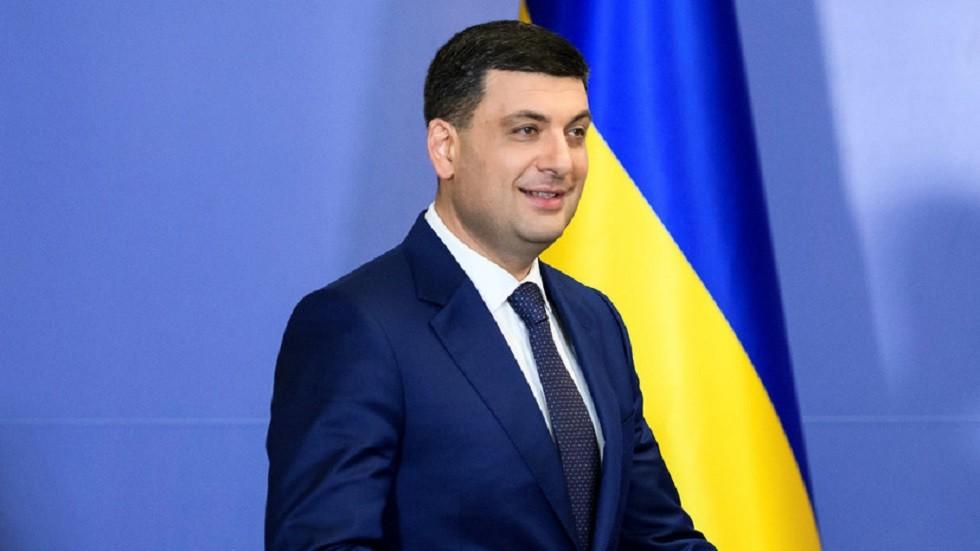 رئيس الوزراء الأوكراني فلاديمير غرويسمان