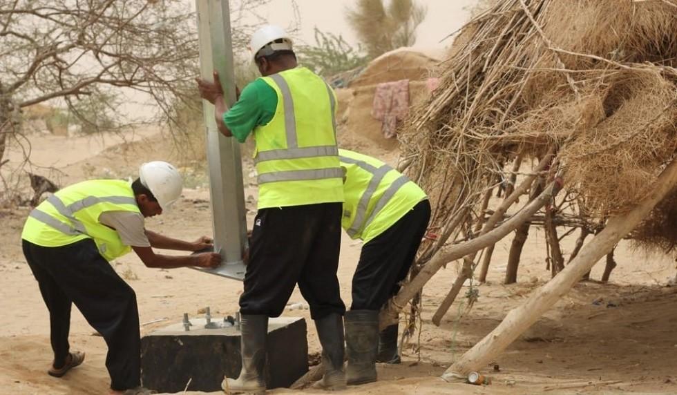 السعودية تعلن إنشاء بنية تحتية كاملة للكهرباء بمحافظة حجة