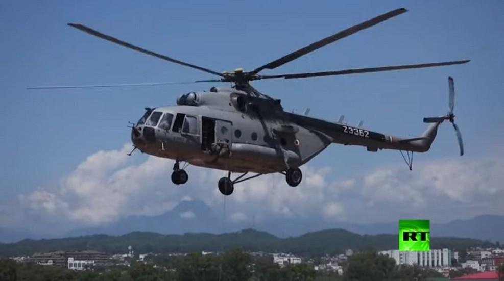 قوات الإنزال الهندية تنقذ صيادين حاصرهم الفيضان