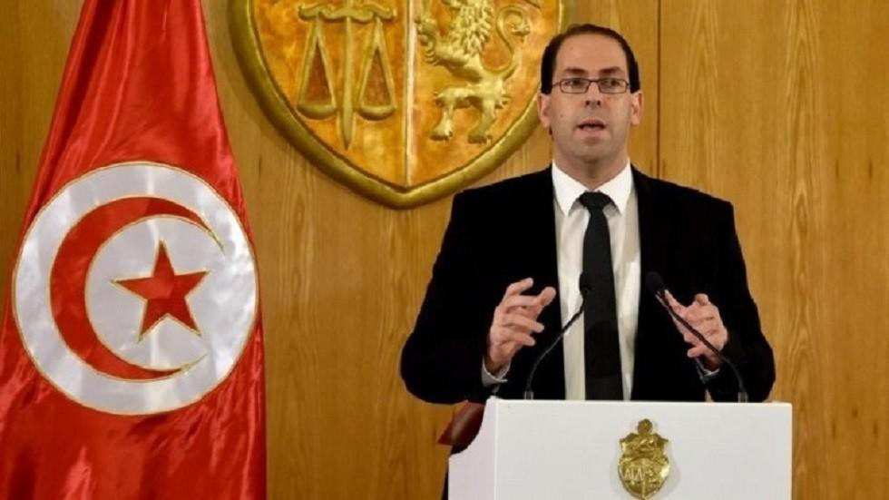 رئيس الحكومة التونسية يوسف الشاهد - أرشيف