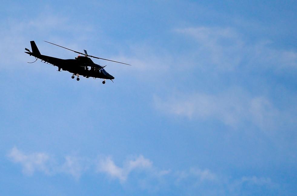 صورة ارشيفية لمروحية من طراز Agusta A-109