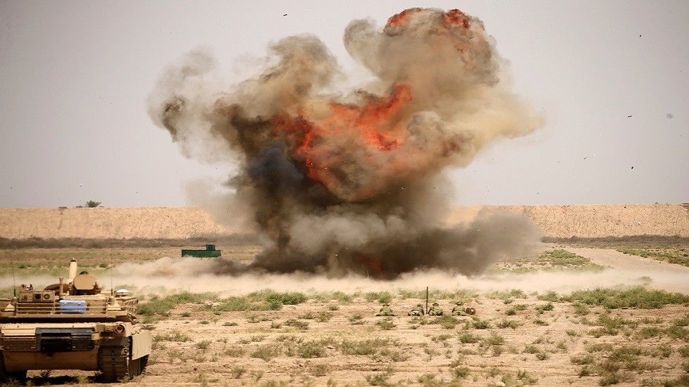 مصدر لـ RT: هناك معلومات عن قصف طائرة مسيرة لمخزن عتاد تابع للحشد الشعبي