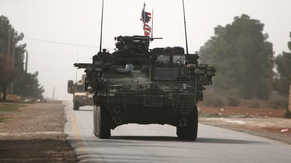 دورية أمريكية قرب منبج السورية - أرشيف