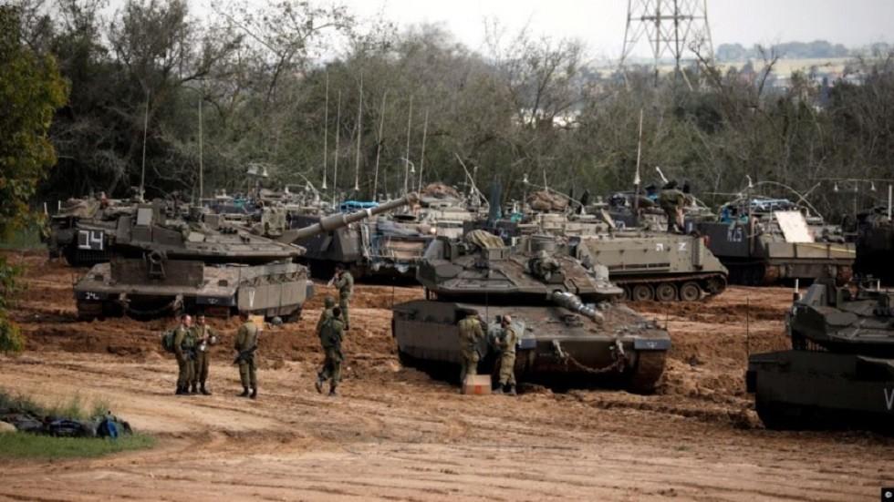 لجيش الصهيوني على حدود قطاع غزة