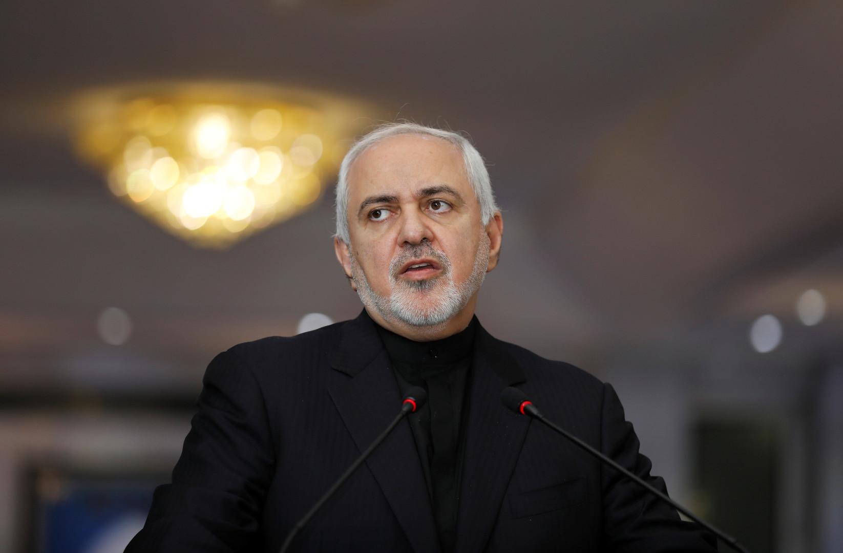 ظريف يحذر واشنطن من خطوة إيرانية