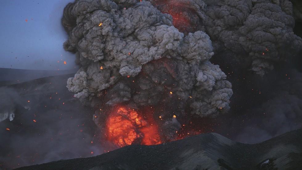 ثروان بركاني في إيسلندا