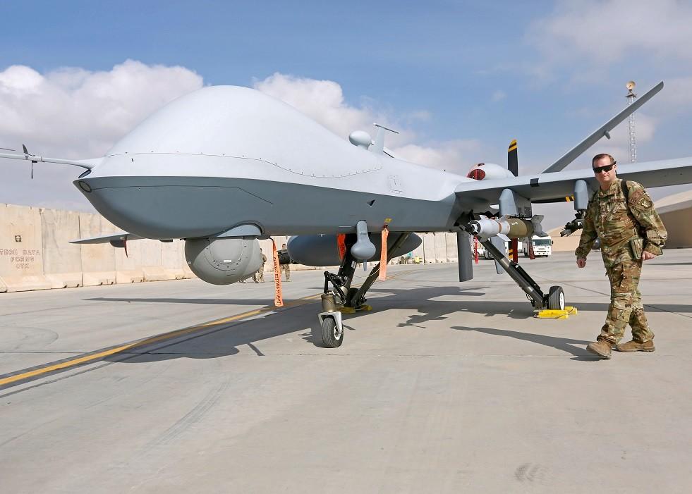 طائرة MQ-9 Reaper الأمريكية