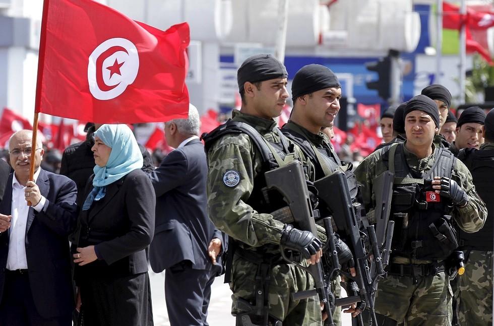 عناصر من قوات الحرس الوطني في تونس - أرشيف -