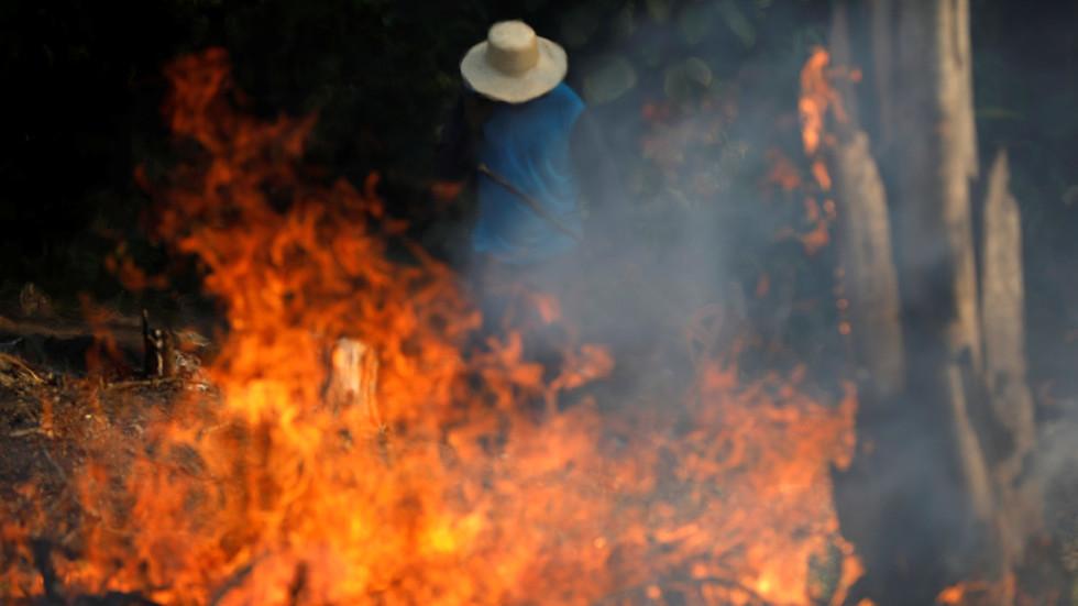 حريق في الأمازون