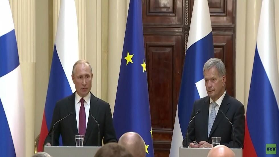 بوتين: سنرد على اختبار واشنطن الصاروخي
