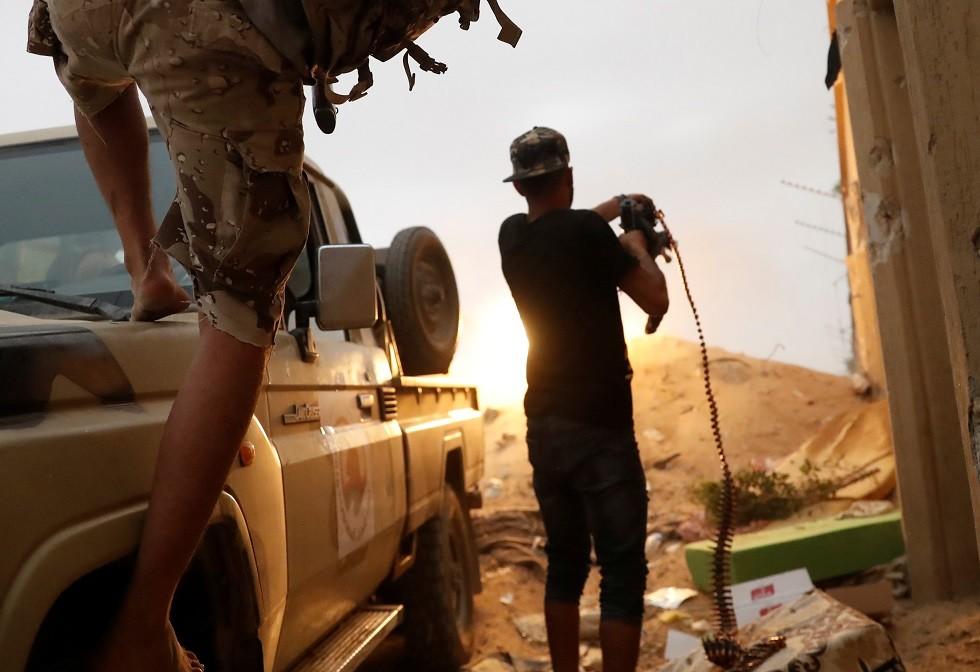 عناصر من قوات حكومة الوفاق الليبية - أرشيف -
