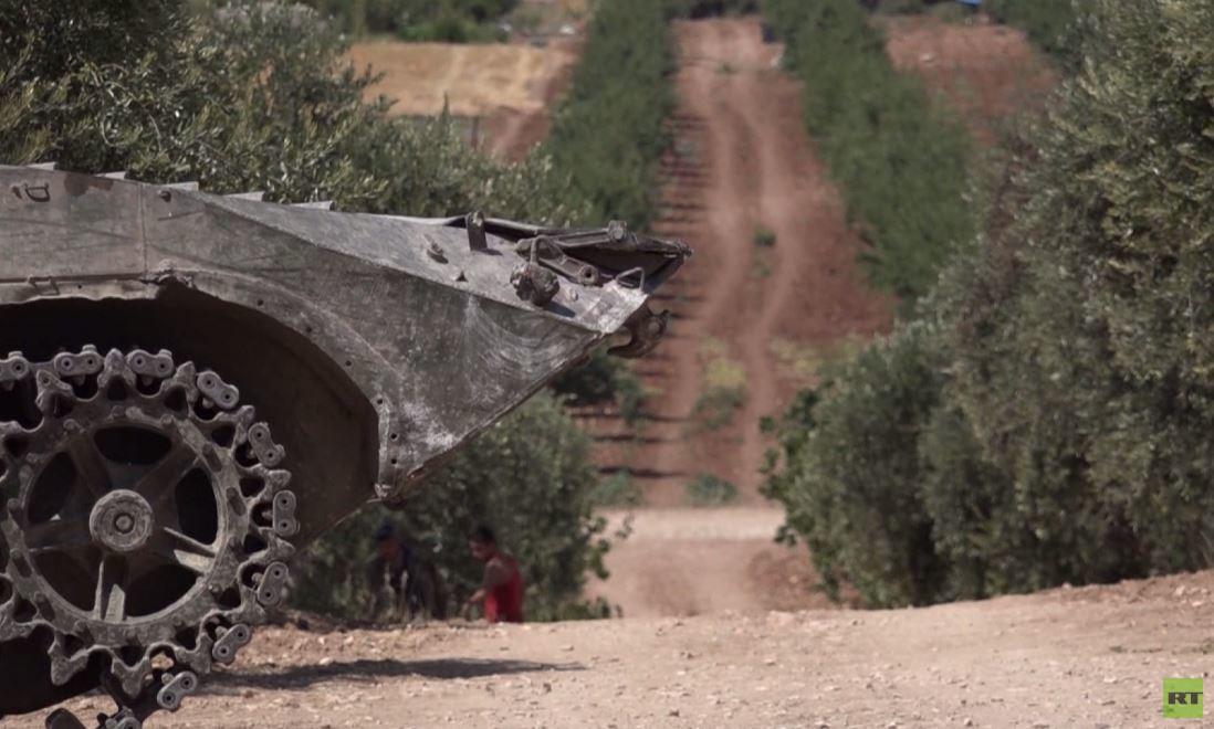 الجيش السوري يبدأ تمشيط خان شيخون