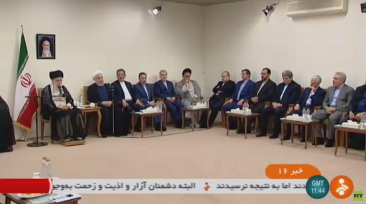 روحاني: لا أمن للممرات المائية دون إيران