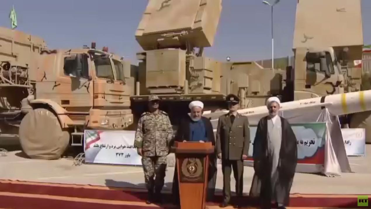 إيران تكشف منظومة باور 373 بعيدة المدى