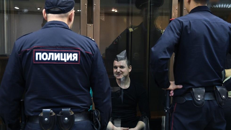 أحد البحارة الأوكرانيين المعتقلين في روسيا بتهمة انتهاك الحدود
