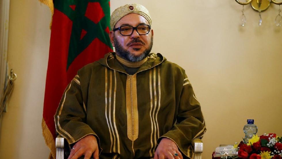 الملك المغربي محمد السادس