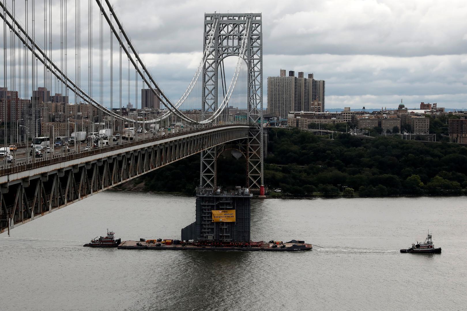 إغلاق جسر جورج واشنطن في نيويورك بسبب تهديد بوجود قنبلة
