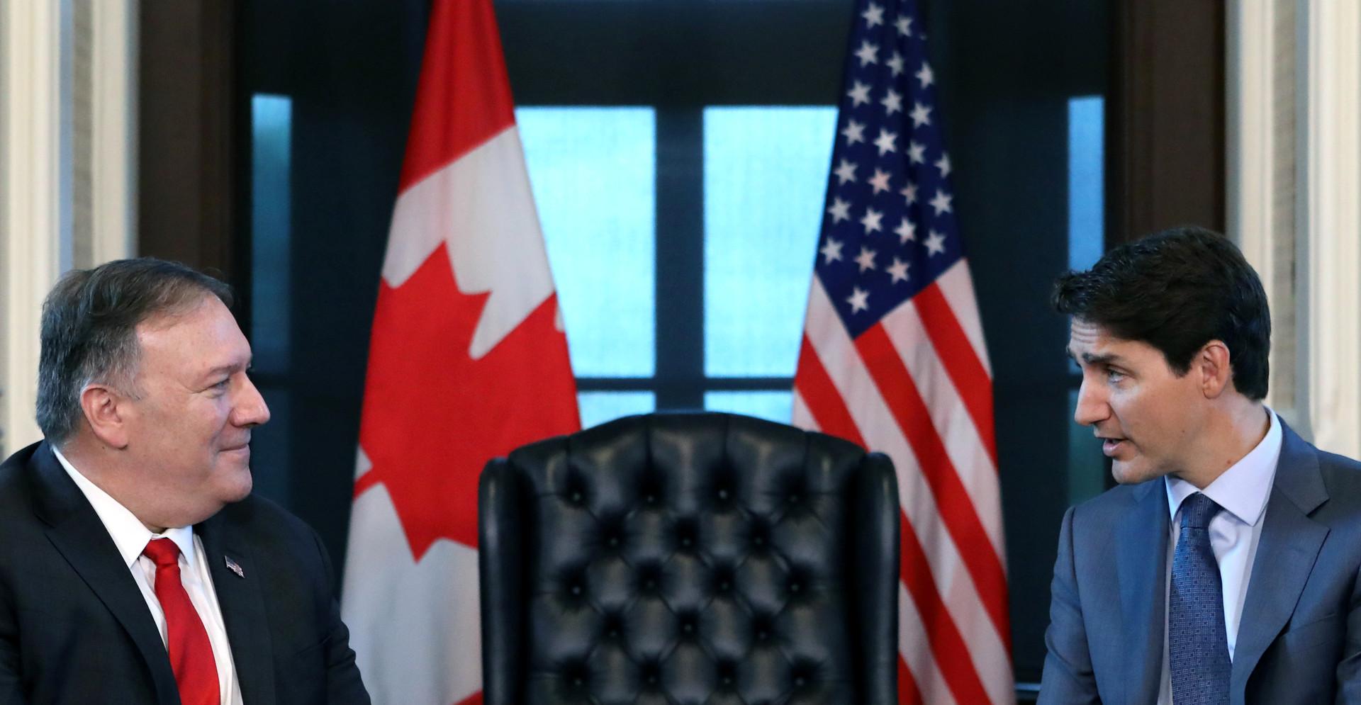 بومبيو يذكّر كندا بضرورة زيادة إنفاقها العسكري في الناتو