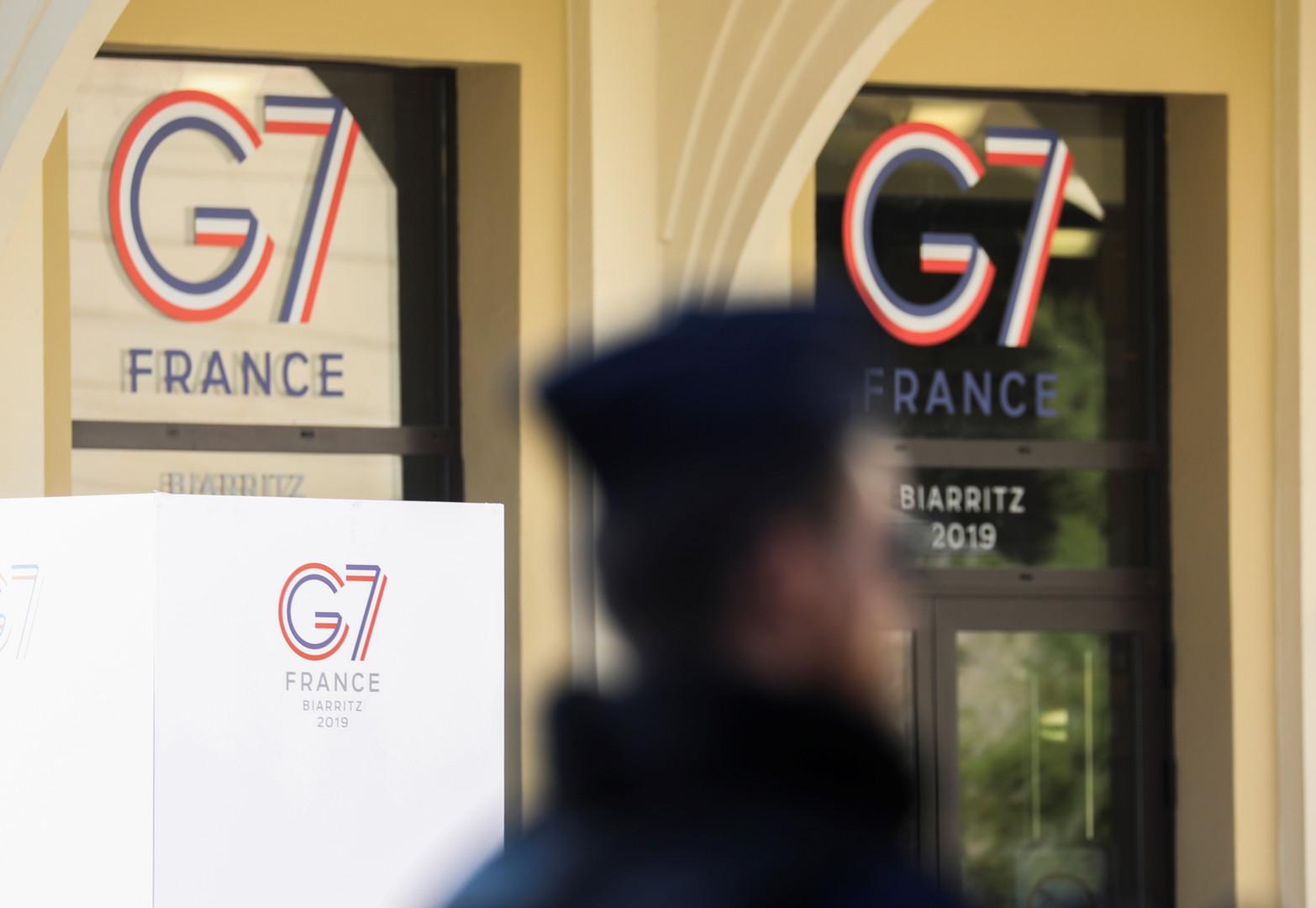 قمة G7 في فرنسا..