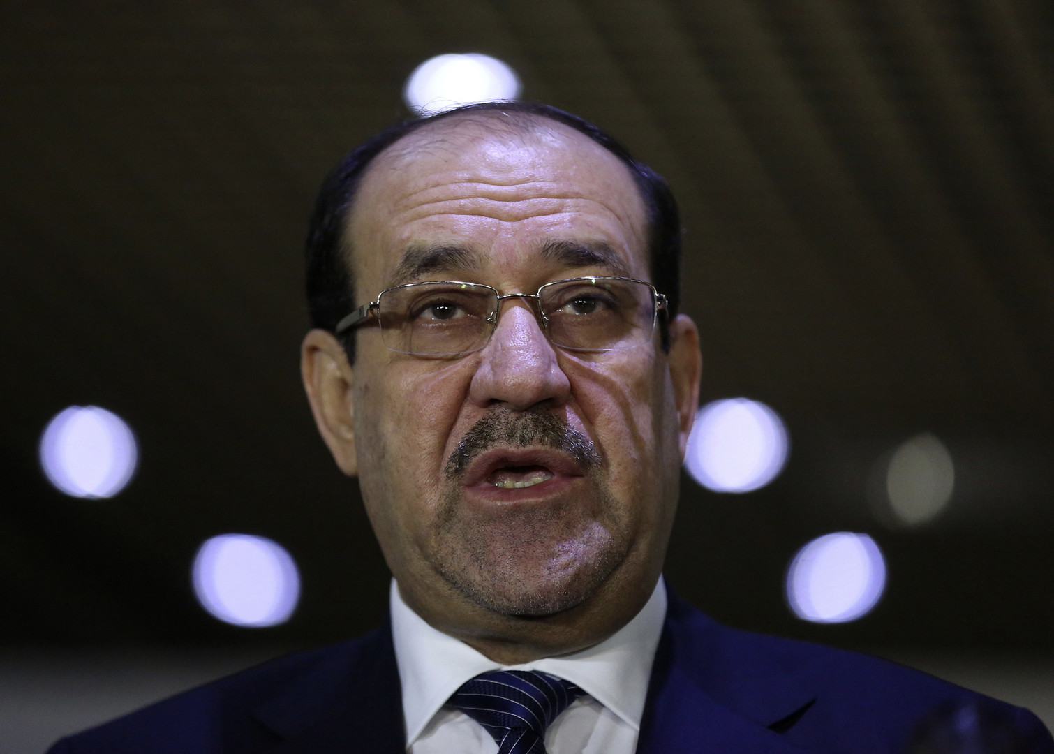 رئيس ائتلاف دولة القانون نوري المالكي