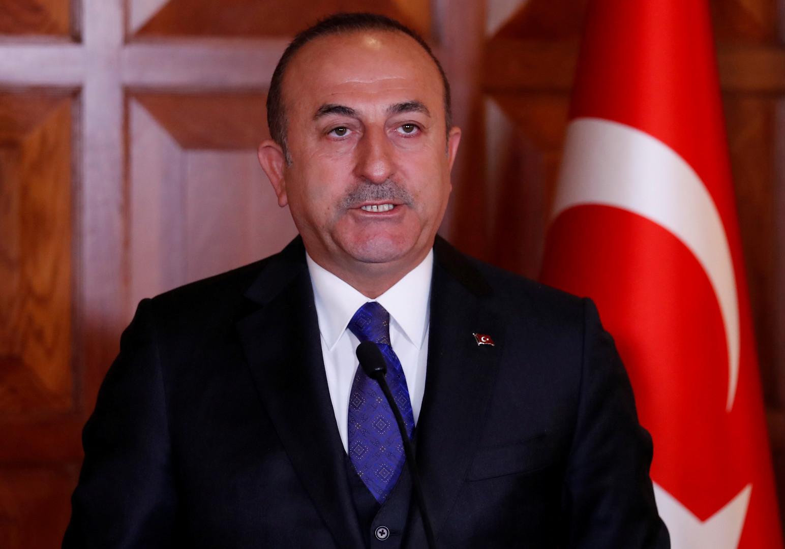 وزير الخارجية التركي، مولود تشاووش أوغلو