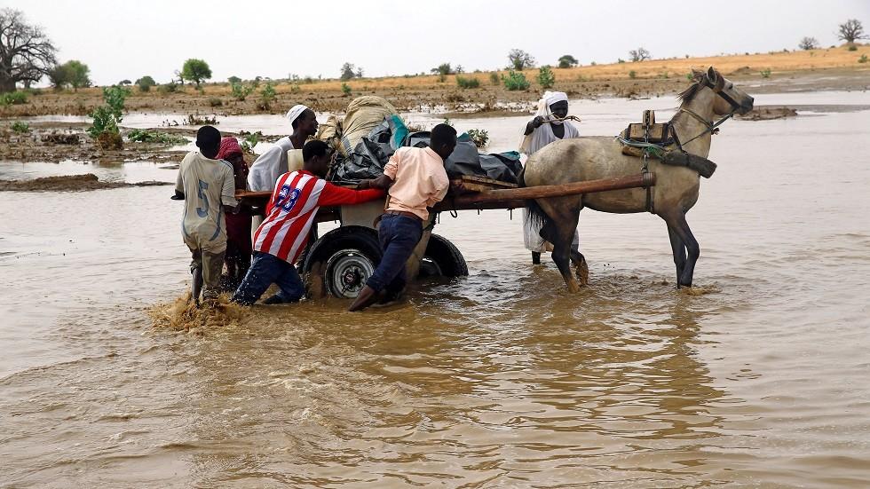 الأمم المتحدة: مصرع 54 شخصا وتضرر نحو 200 ألف جراء الفيضانات في السودان