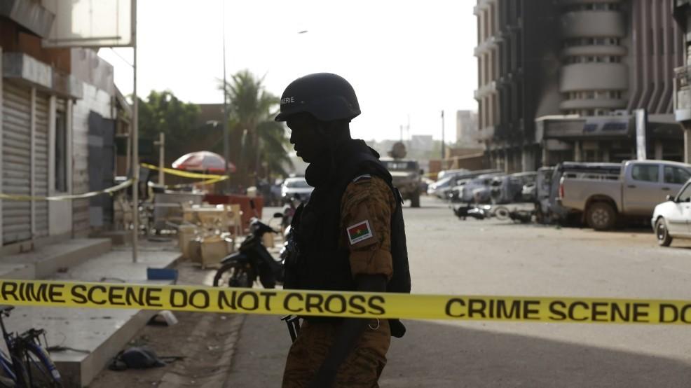 عنصر من قوات الأمن في بوركينا فاسو