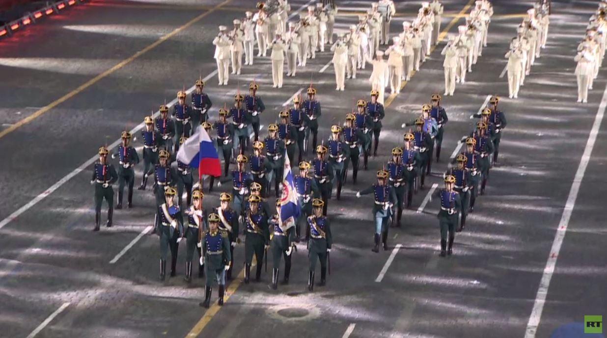 """مهرجان """"سباسكايا باشنيا"""" للموسيقى العسكرية في الساحة الحمراء"""