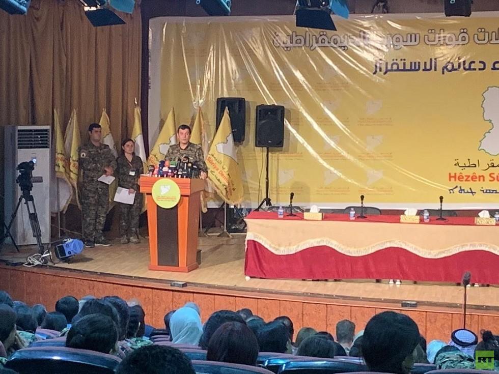 قسد تطلب من دمشق إيجاد حل يتناسب مع الوضع الراهن لشمال شرق سوريا