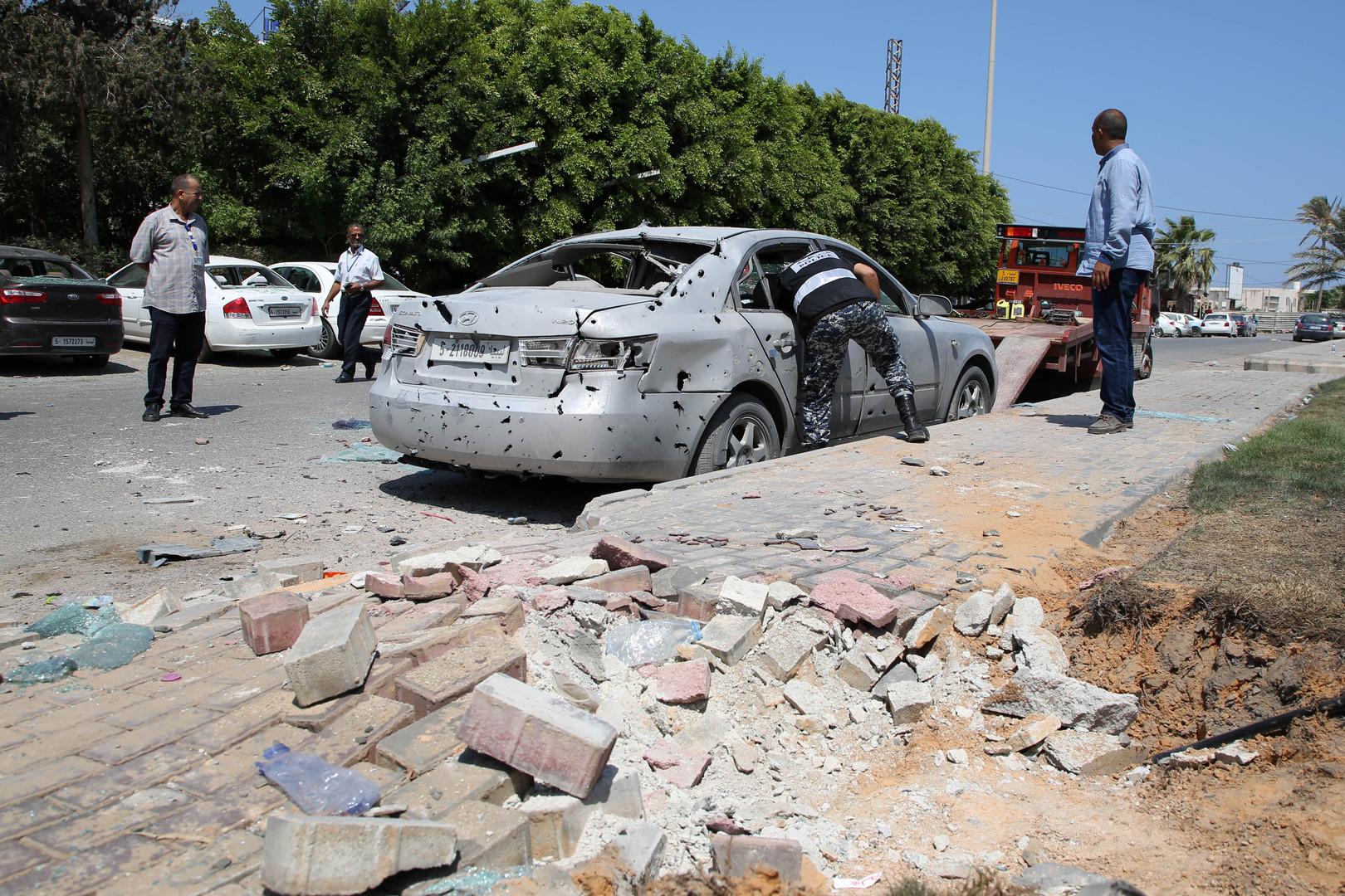 مقتل 4 مدنيين جراء قصف استهدف جنوب طرابلس الليبية