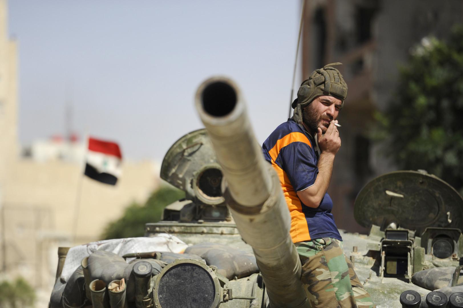 بعد استعادة خان شيخون.. الجيش السوري يحشد قواته في إدلب استعدادا لمواصلة التقدم