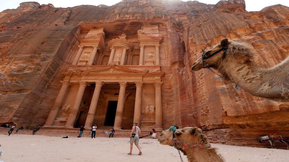 البتراء الأردنية - أرشيف