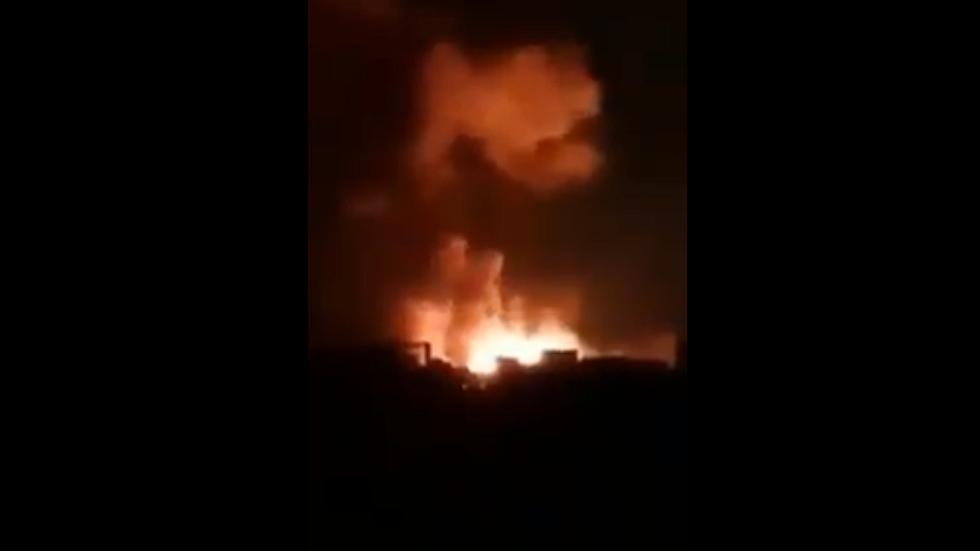شاهد.. إسرائيل تنشر فيديو تزعم أنه لقصفها أهدافا لفيلق القدس الإيراني جنوب دمشق