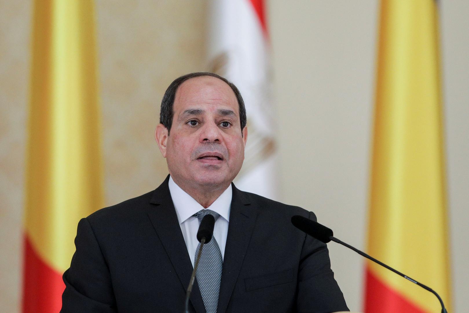 السيسي: ندعم الجيش الوطني الليبي ويجب منع التدخلات الخارجية في البلاد