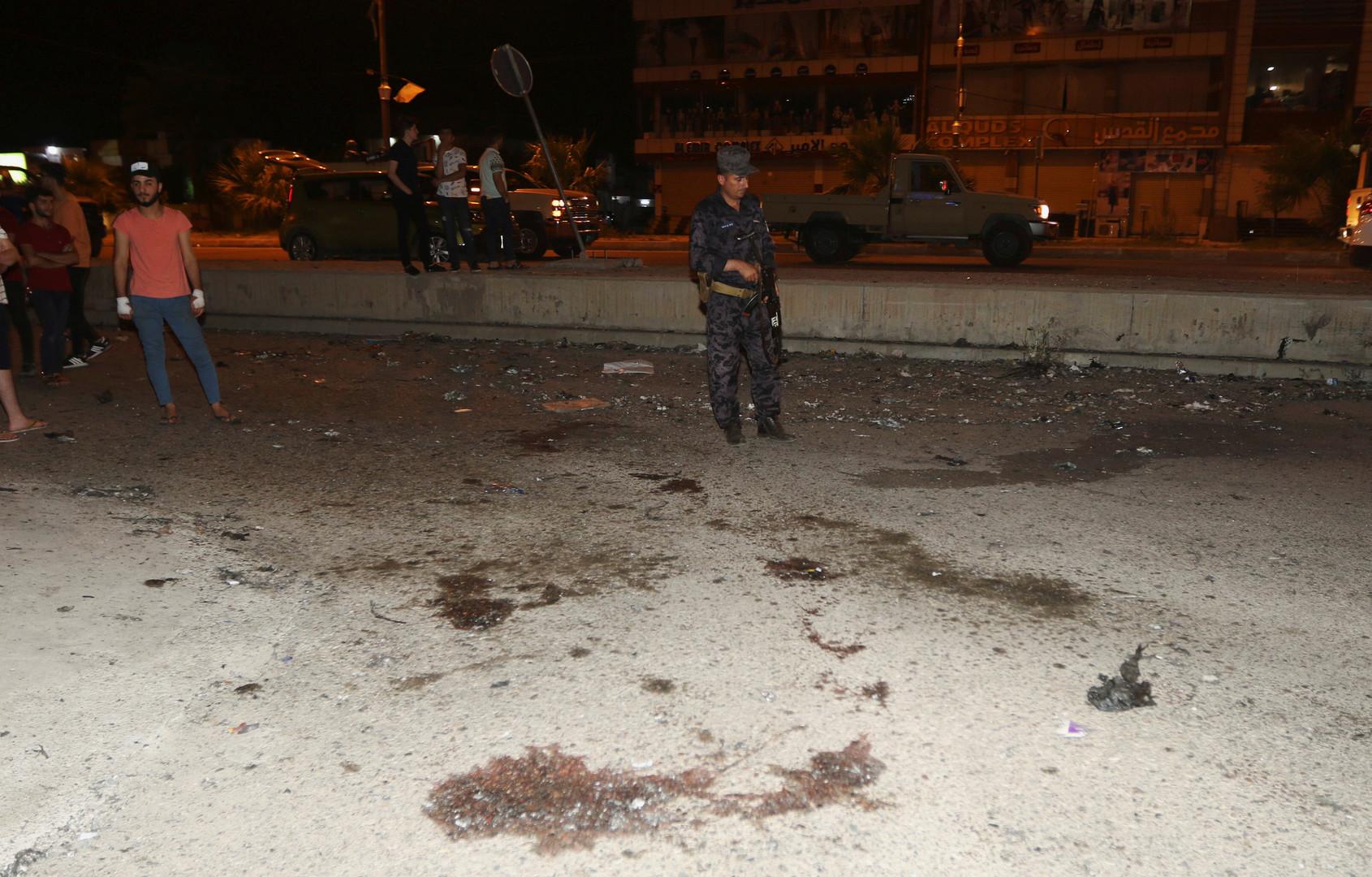عناصر من الشرطة العراقية
