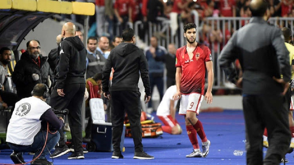 Egypt's Al-Ahly left Moroccan striker Azaro